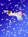Miyazaki's Fly Girl Colored