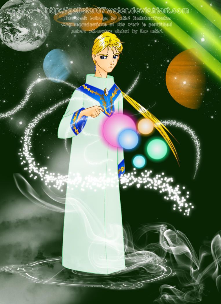 Lord Arael of Kandrakar by Galistar07water