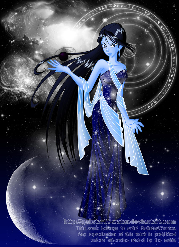 Nyxea the Nightress by Galistar07water