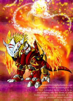 The Ancient Warrior of Flame