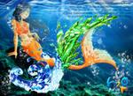 Shinobu's Crystallokinesis by Galistar07water
