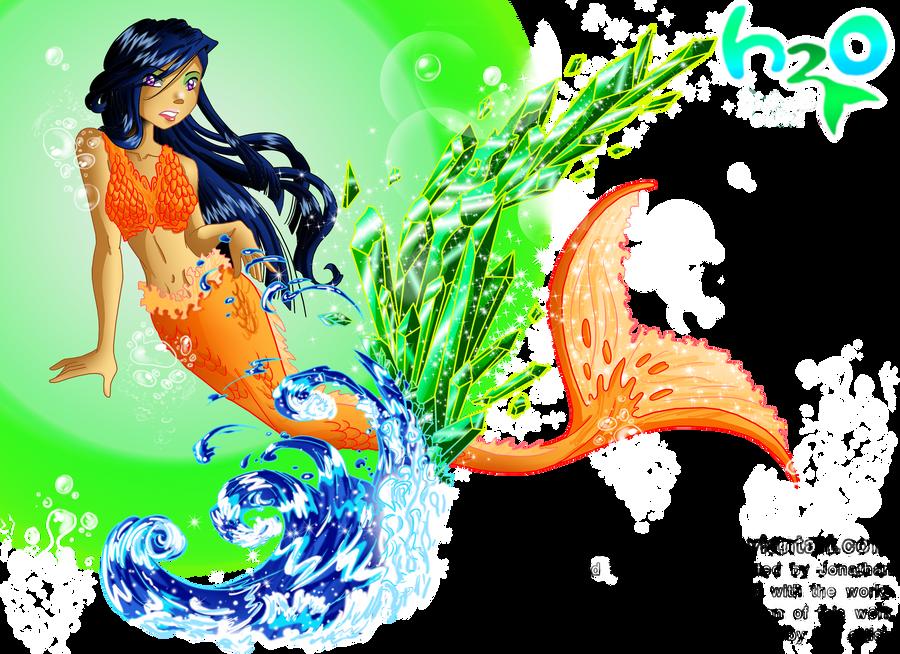 H2O Shinobu By Galistar07water