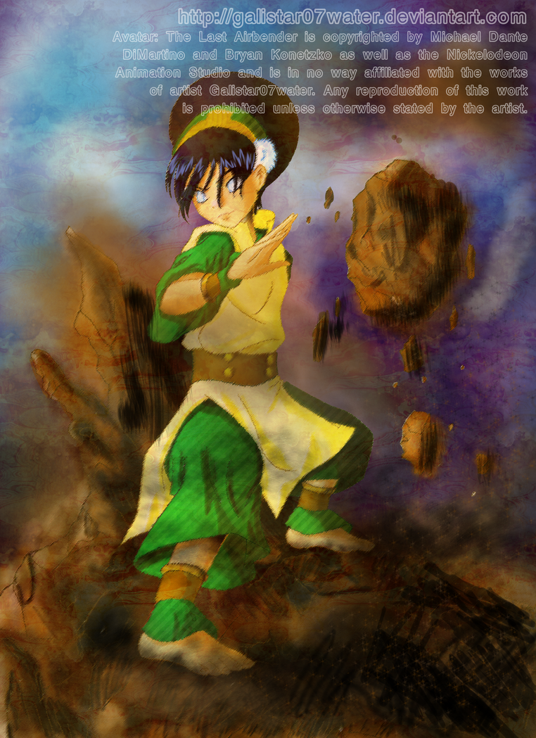 Toph the Earthbending Master by Galistar07water