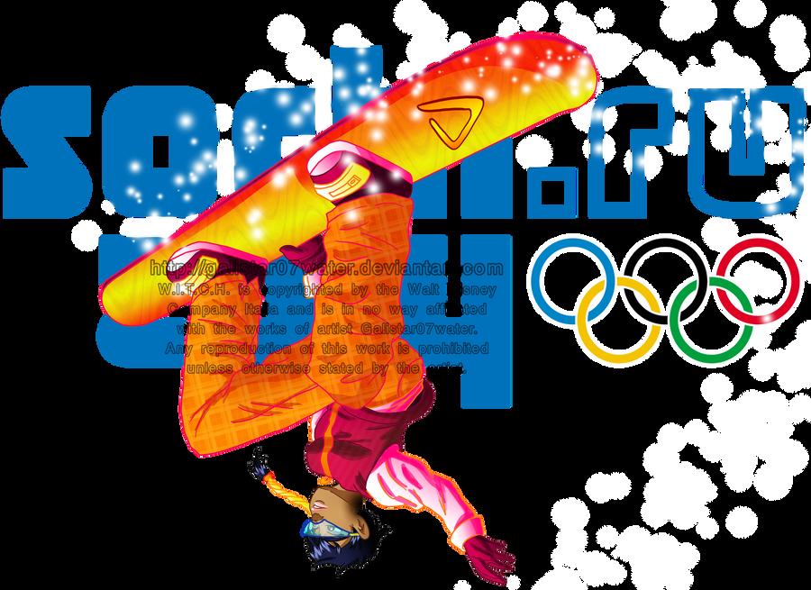Taranee at the 2014 Sochi Olympics by Galistar07water