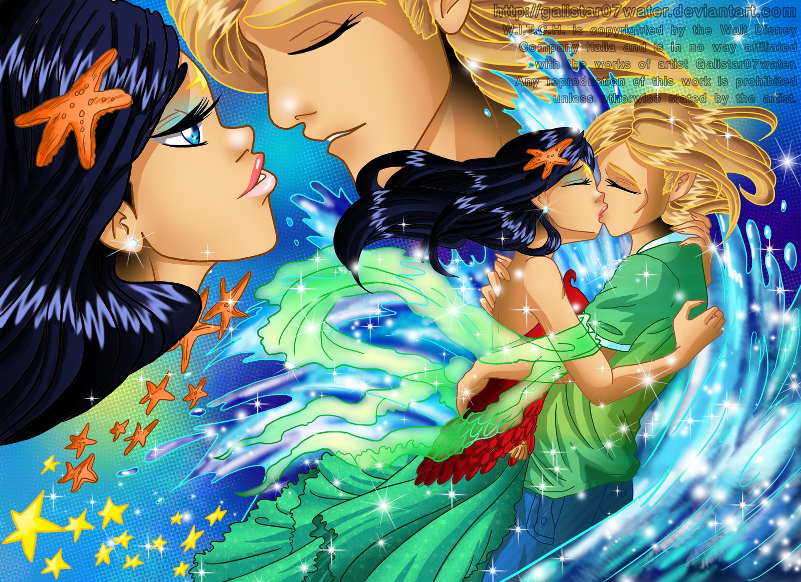 The Eternal Kiss by Galistar07water