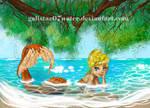 Julia by Galistar07water