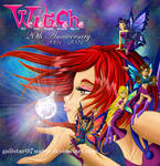 W.I.T.C.H. 20th Anniversary by Galistar07water
