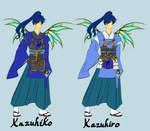 Kazuhiko and Kazuhiro New Power sketch by Galistar07water