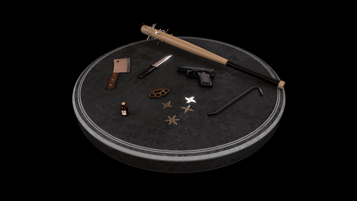 Weapons - Turntable by JoaoYates