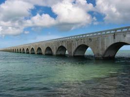 Old 7 Mile Bridge by DivineSpiral