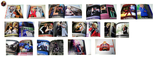 THE COSPLAY BOOK PROJECT - PICTURES