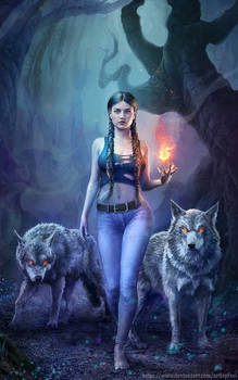 Book Cover Available - Wolf Spirit