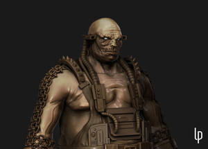Dark Sentinel - close up