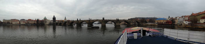 The bridge at Prague