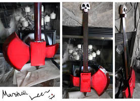 Marshall Lee Axe by sexywhales