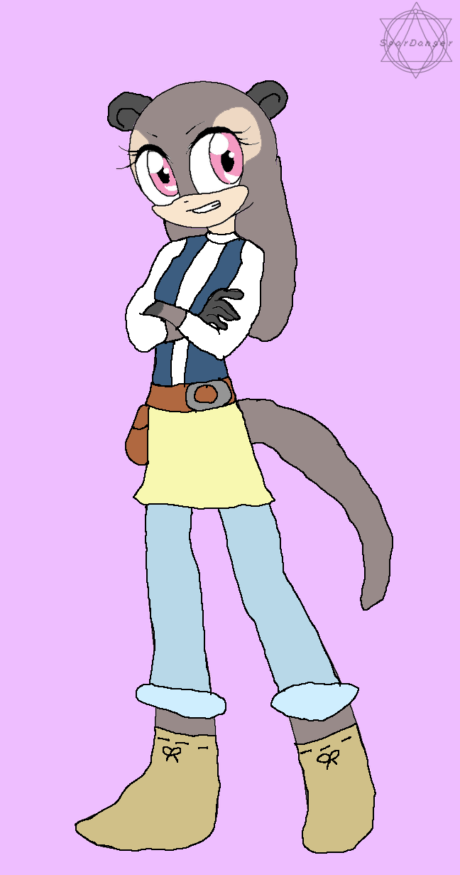 Leilani the Cape Clawless Otter by Sonicaice
