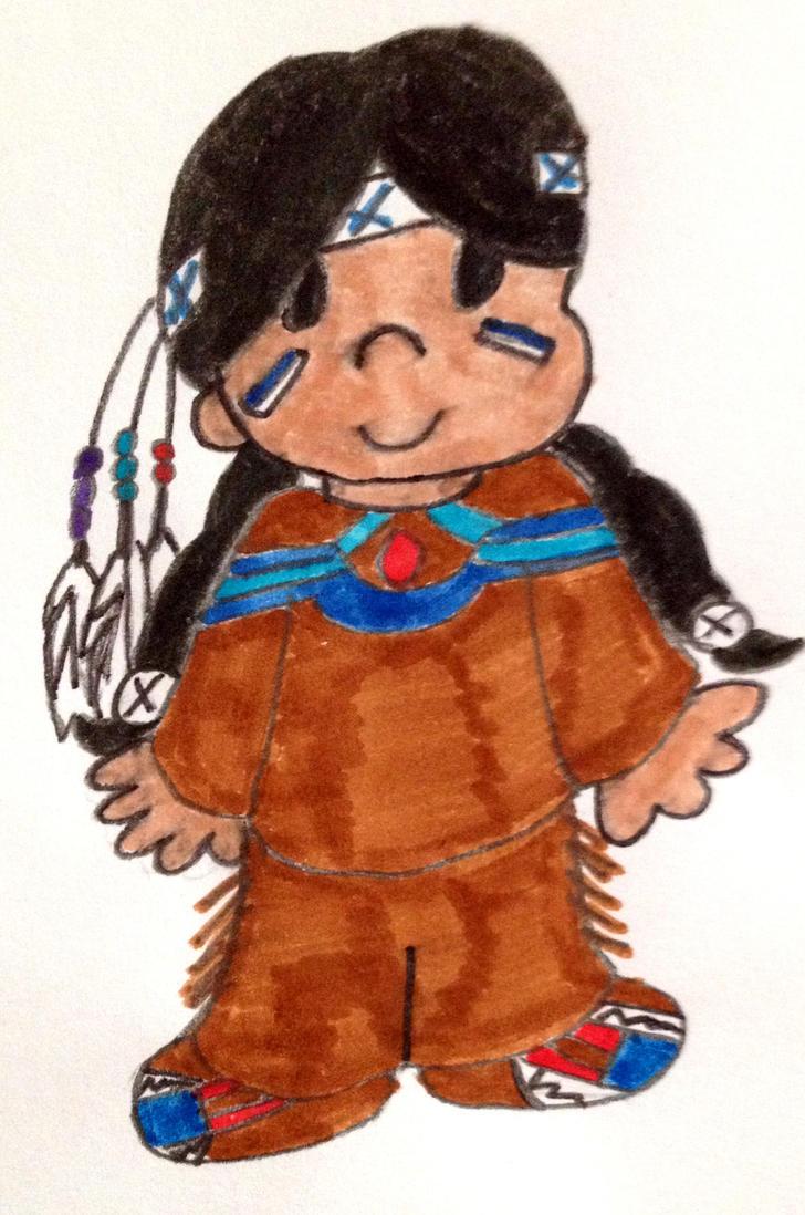 Little Native by freddyvsjasonvsme