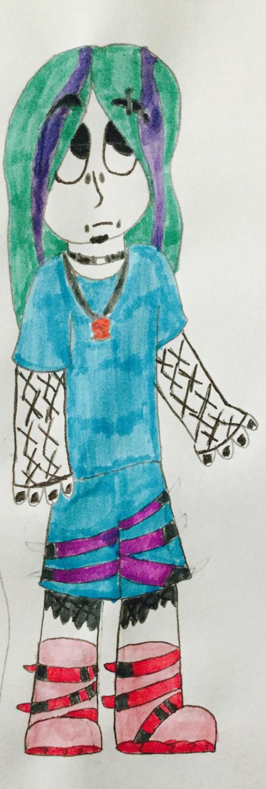 Pastel goth Rhain? by freddyvsjasonvsme