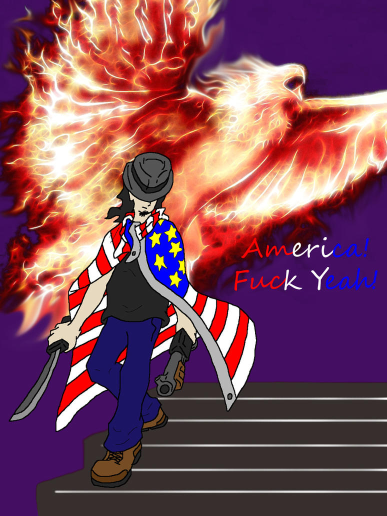 American Bad-Ass by The-Pervy-Sage