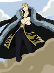 Laxus Dreyar Fairy Tail by genezizpa