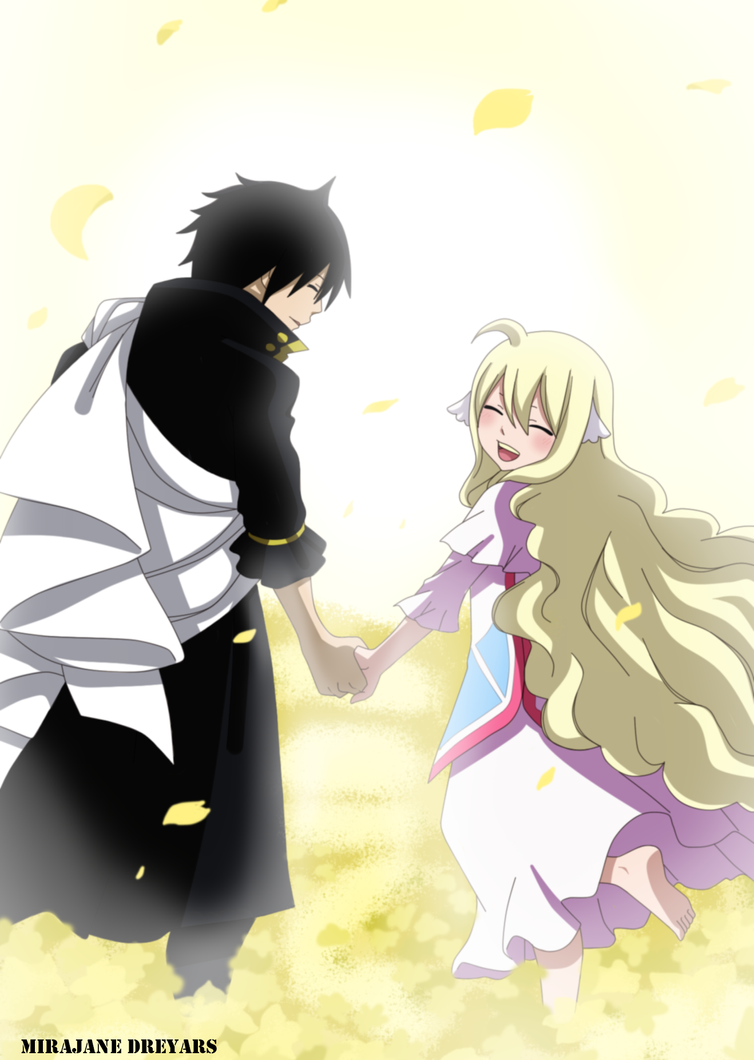 fairy tail zeref and mavis relationship advice