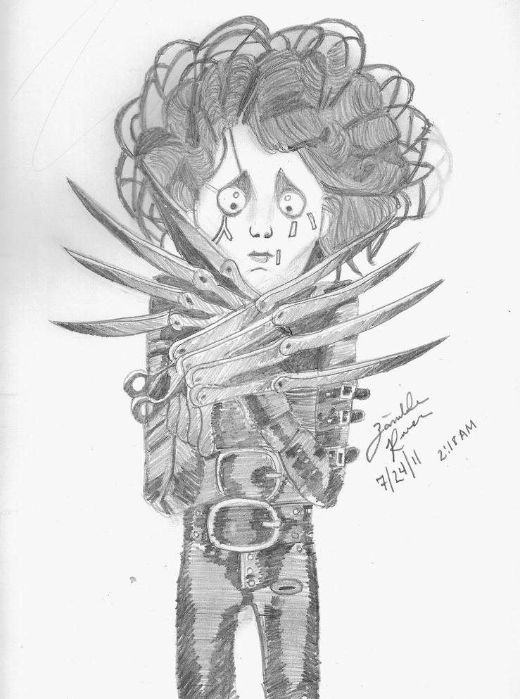 Edward Scissorhands by StephDY