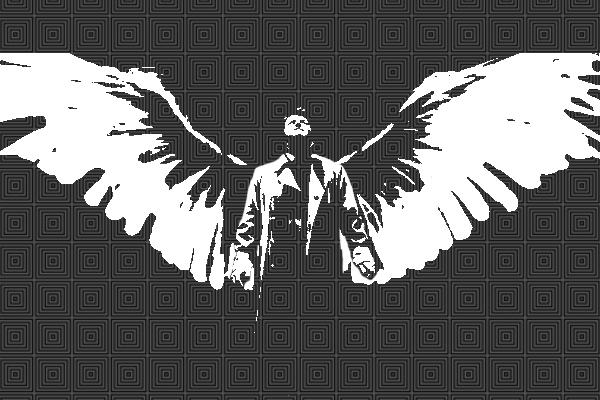 Castiel Wings By StephDY