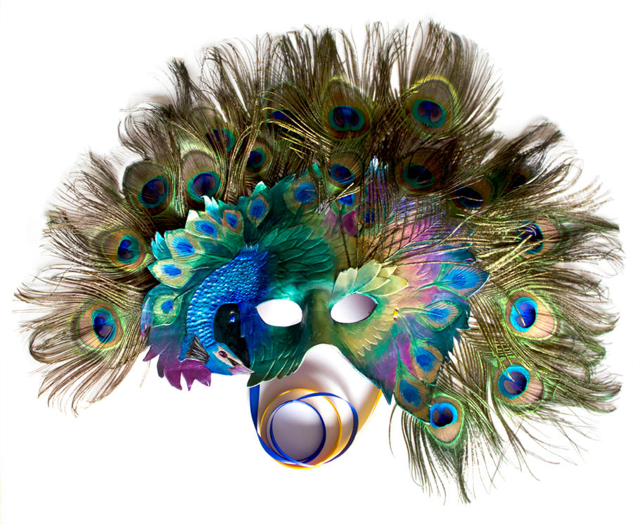 Peacock Mask by OakMyth
