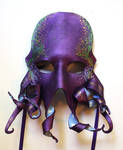 Purple Octopus Mask