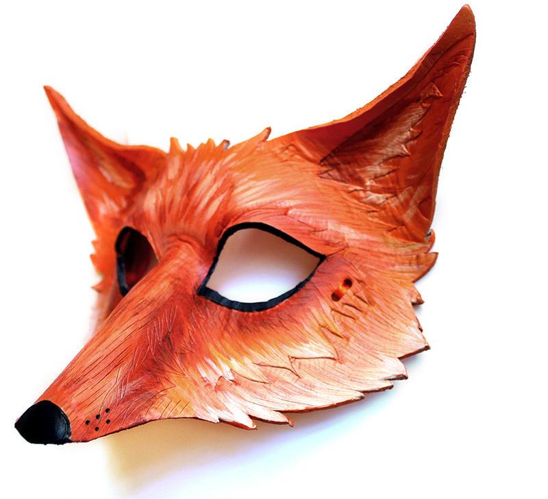 Vulpes Vulpes Mask by OakMyth