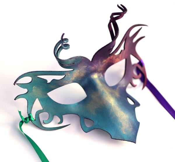 Mini Dragon Mask by OakMyth