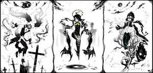 Zero Circle - Battle Forms