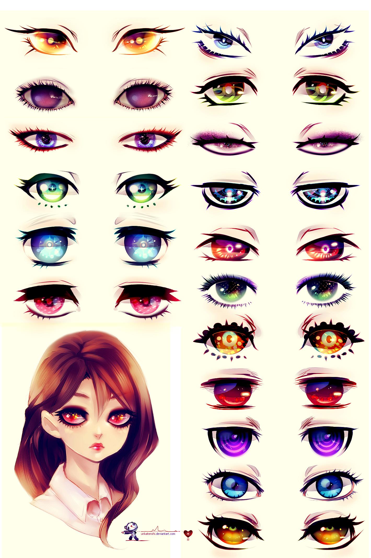 Eyes by UnkaiTenshi