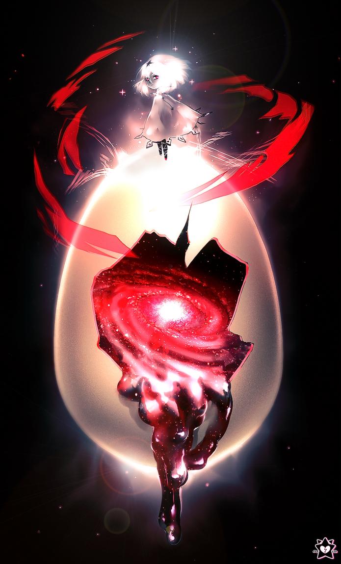 Cosmic Egg by UnkaiTenshi