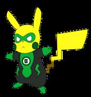 Pikachu Green Lantern by Wanda92