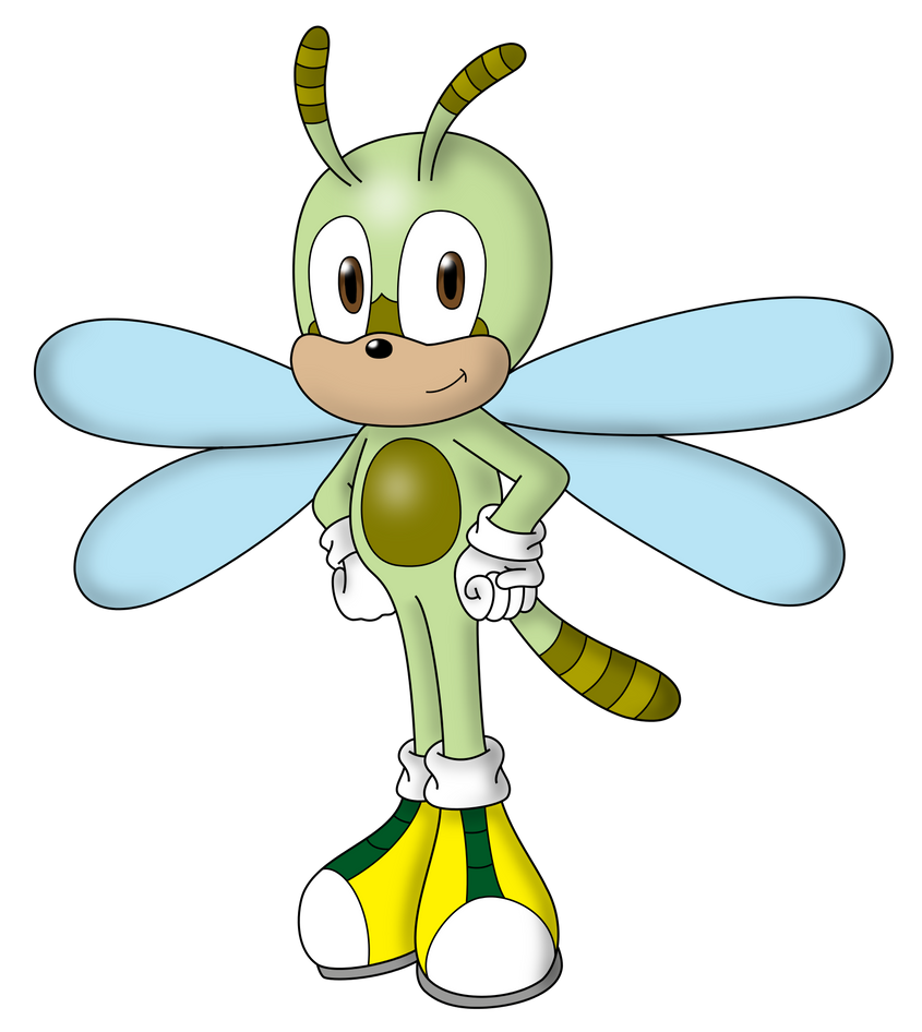 sonic oc zing the dragonfly by wanda92 on deviantart