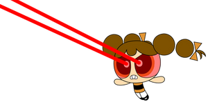 PPG OC: Butterfly's Laser Vision (2016 Style)
