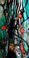 Lady in robe by davidjoel