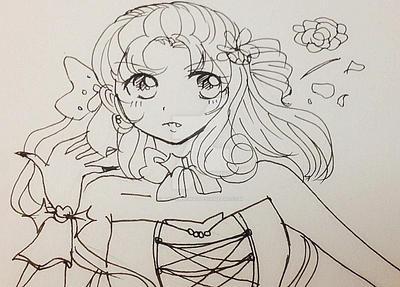 Vampire Girl by angiewaiwai