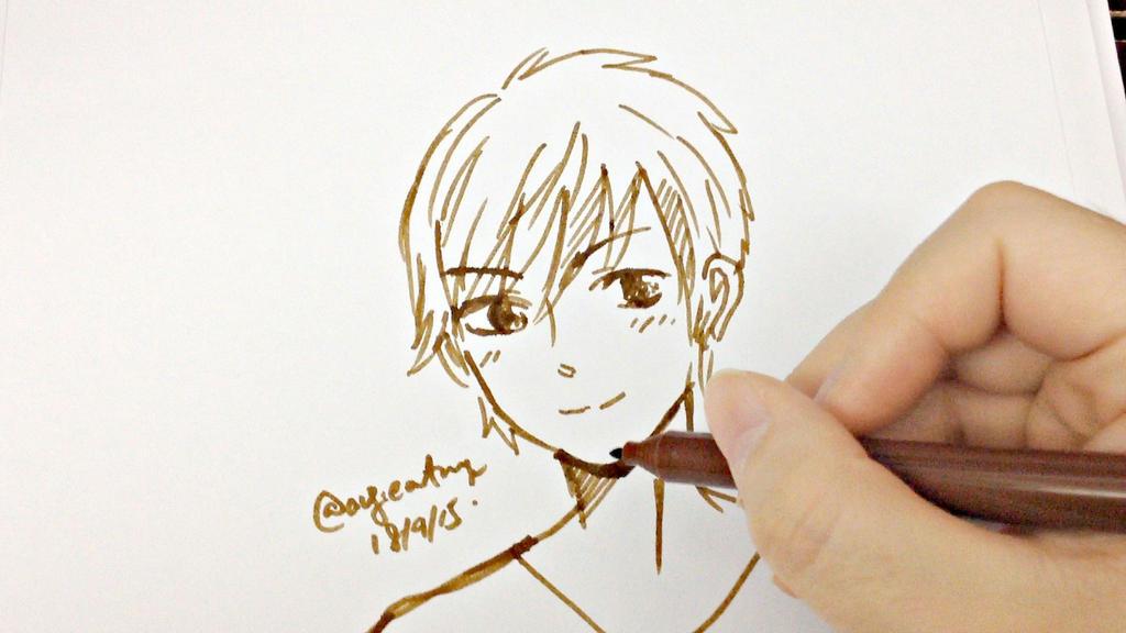 Manga Boy by angiewaiwai