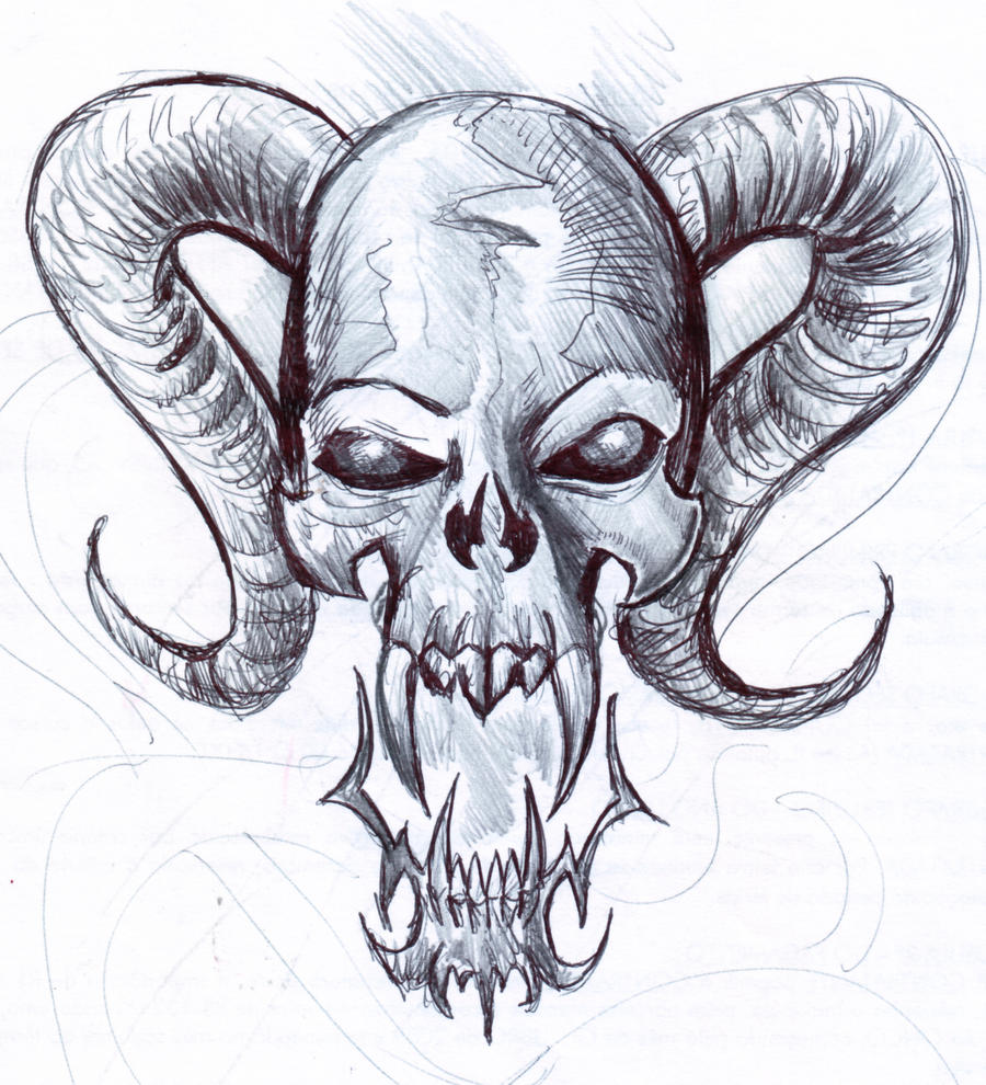 the gallery for gt cool skull designs to draw