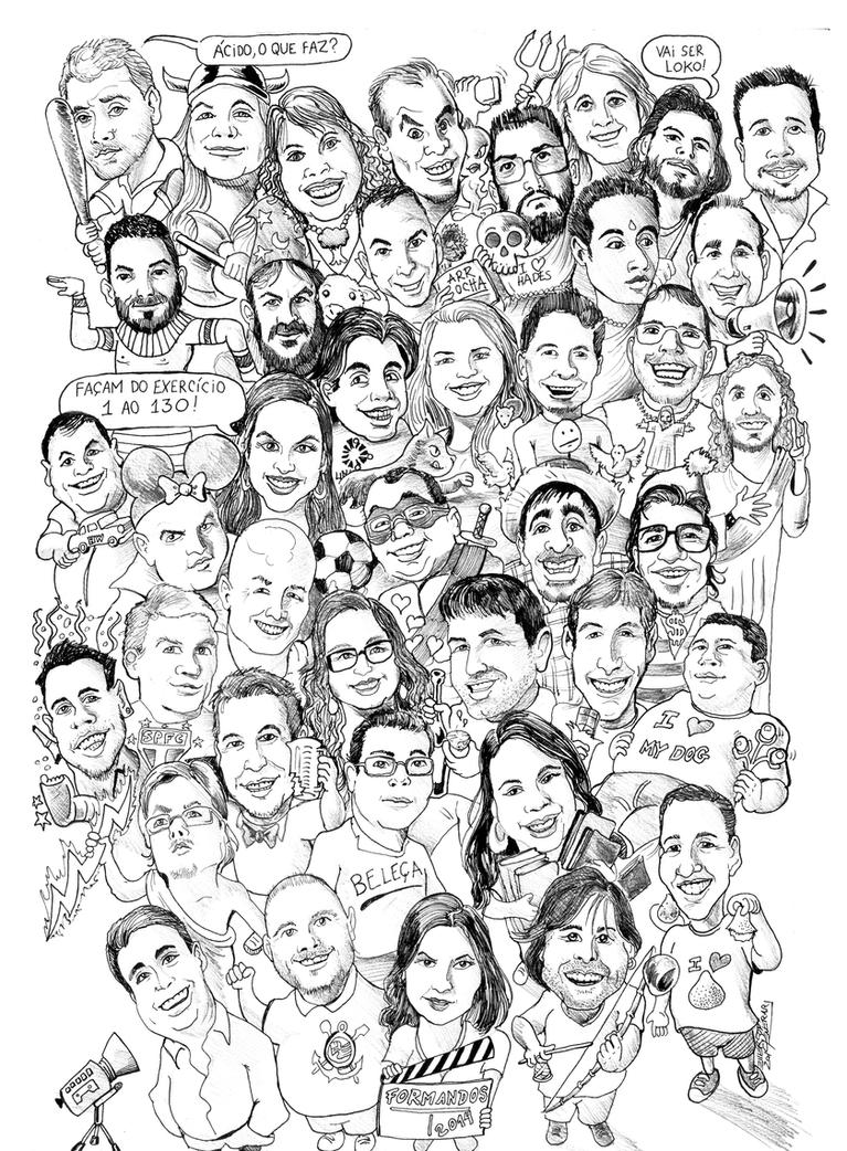 2014 Caricature Comission by Penerari
