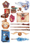 Harry Potter objects and spells