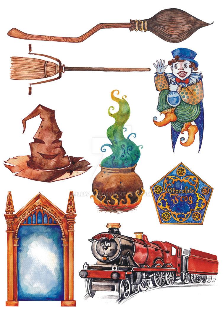 Harry potter object penetration