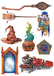 Harry Potter objects and spells (part 2)