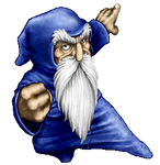 Merlin's Revenge: old fanart.