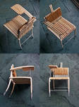 Student chair: scaled model