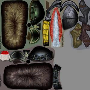 British helmets: Texture