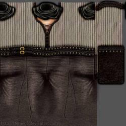 Suelita's clothes: Texture