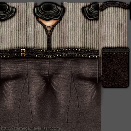 Suelita's clothes: Texture by SteMega